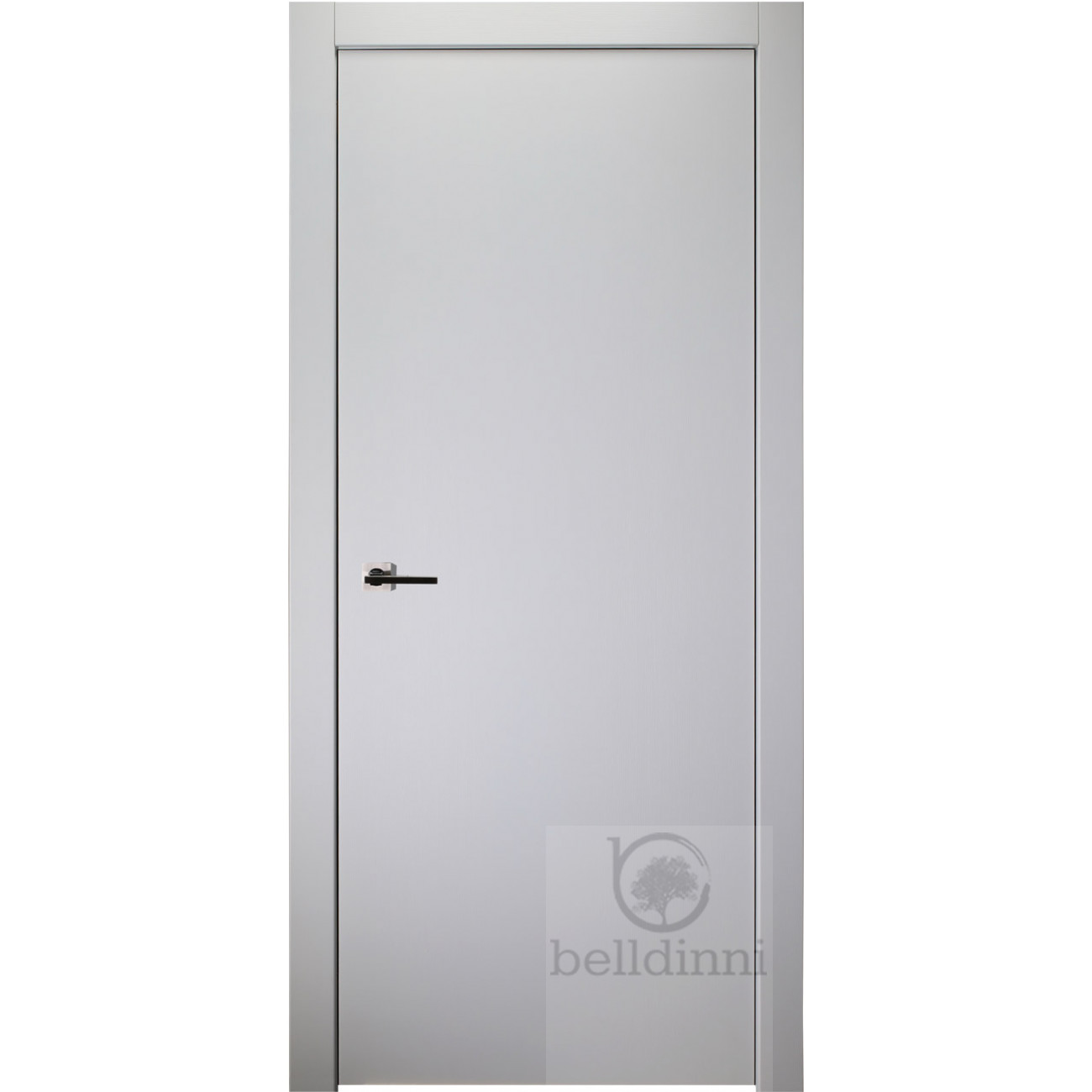 Palladio Bianco Noble Flush Interior Door Solid Core Polypropylene Finish Belldinni Belldinni