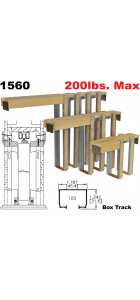 Johnson Hardware 1560 Pocket Door Frame For 2*6 Stud Walls