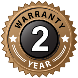 2 Year warranty for all doors